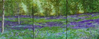 BLUEBELL MEADOW TRIPTYCH