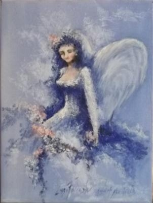 Blue Angel of Abundance