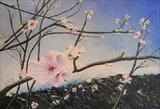 Arrival of Spring by Lizzy Forrester, Painting, Acrylic on canvas