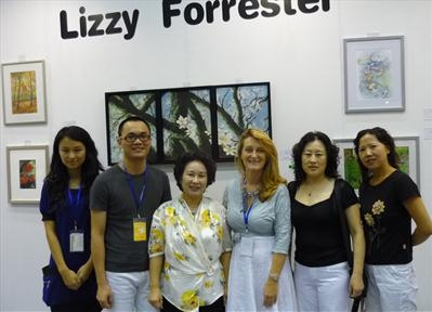 Lizzy Forrester's Stand Beijing 2010 by Lizzy Forrester, Photography