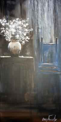 Parlour Peace by Lizzy Forrester, Painting, Acrylic on canvas