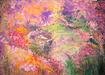 ABUNDANCE by Deborah Elizabeth McNeill, Painting, Acrylic on canvas